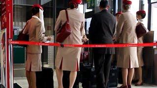 *SPECIAL* Emirates Flight Report EK056 : Düsseldorf-Dubai Boeing 777-300 (1080p) HD