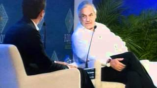 Closing Panels with Government Leaders, Sebastián Piñera President of Chile