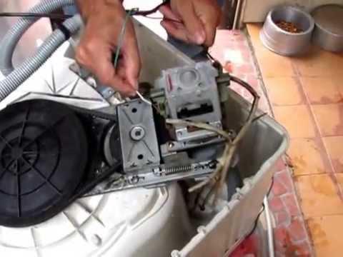 Manuten��o caseira reparo do tanquinho troca do carv�ozinho do motor