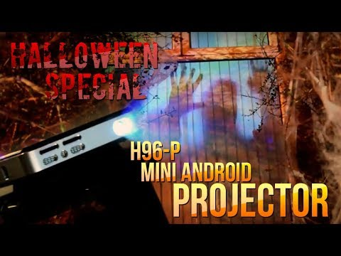 CHEAP 300 INCH PORTABLE MINI PROJECTOR: H96-P Android Projector Review