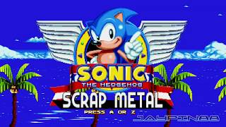 Sonic The Hedgehog: Scrap Metal || First Look Walkthrough (720p/60fps)