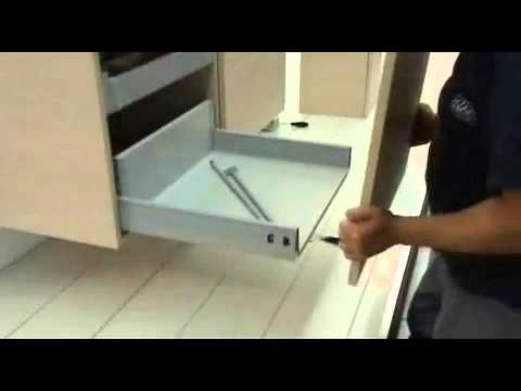 badkamermeubels alke monteren en demonteren ladefront