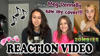 REACTING TO MEG DONNELLY Reacting To Presley's Cover of Stand from ZOMBIES!!!