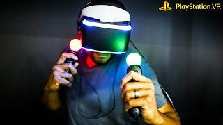 PSVR DEMO GAMES - Checking Out PSVR Demo Games - What Games To Buy | HikePlays
