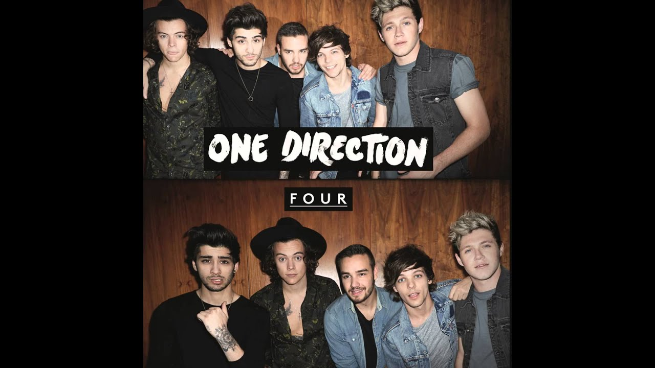 """One Direction """"FOUR"""" (Official Album Cover) 