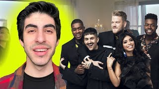 New Rules x Are You That Somebody - PENTATONIX [REACTION]