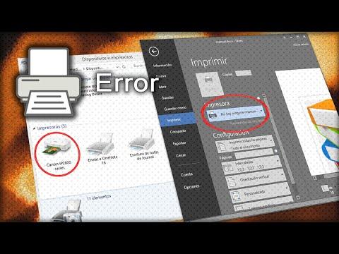 Solución a problemas de impresión | Los programas no detectan la impresora