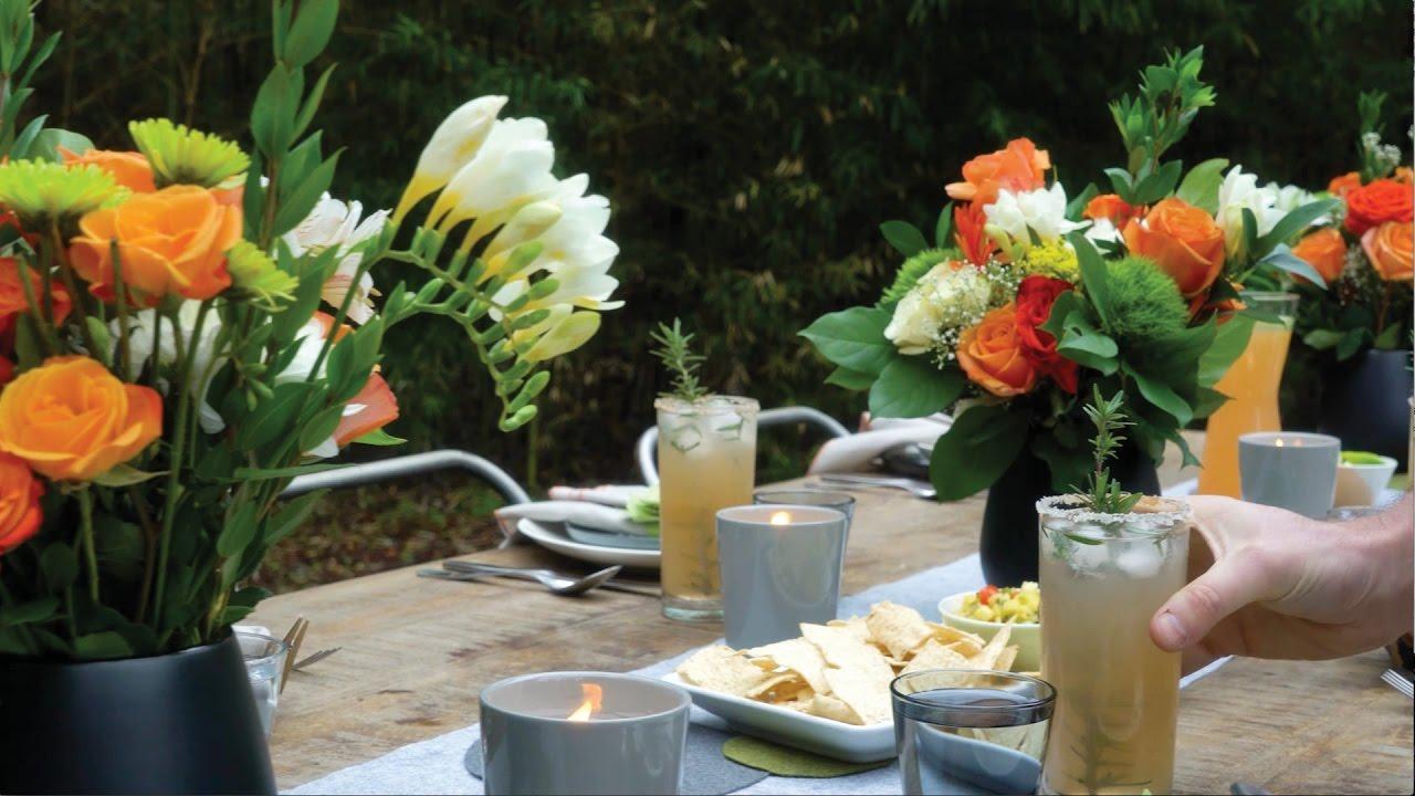 Outdoor Dinner Party Ideas Part - 46: Host An Outdoor Dinner Party In 5 Simple Steps With These Outdoor  Entertaining Ideas