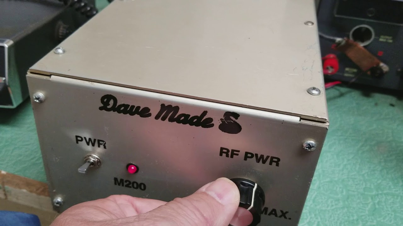 Dave Made M200 Amplifier