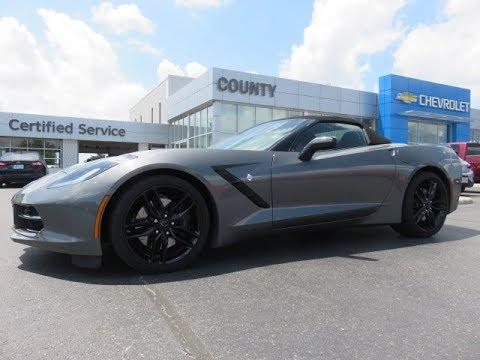 2016 Chevrolet Corvette Stingray Z51 Shark Grey Metallic