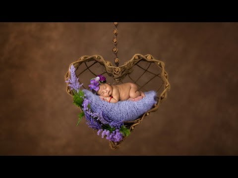 Newborn Photo session for Rainbow Baby Girl with Heartwarming Adopted Sunny Big Sister
