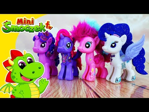 My Little Pony Księżniczka Luna, Rarity, Pinkie Pie, Twilight Sparkle - SUPER Zabawki MLP Dla Dzieci