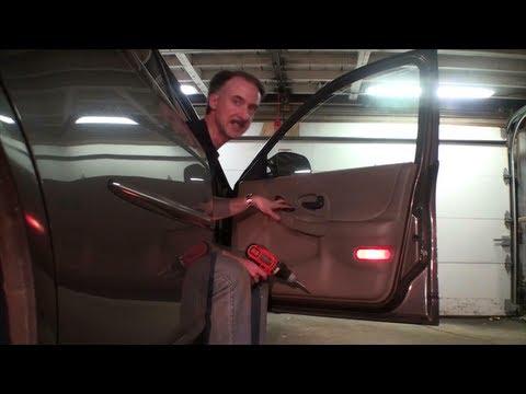 How To Replace Power Window Motor 1999 Pontiac Grand Prix Front Passenger Door