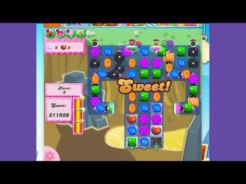 Candy Crush Saga Level 2851 - no boosters