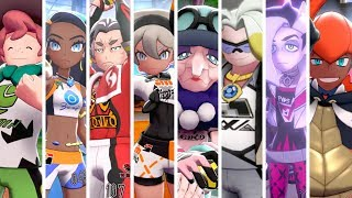 Pokémon Sword & Shield - All Gym Leader Battles