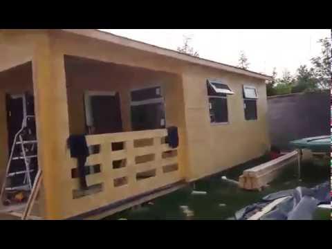 Kilcock 2 bedroom log house at Eco Log Cabins YouTube