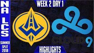 Video GGS vs C9 HIGHLIGHTS | NA LCS SUMMER 2018 Week 2 Day 1 | Golden Guardians vs Cloud 9 download MP3, 3GP, MP4, WEBM, AVI, FLV Agustus 2018