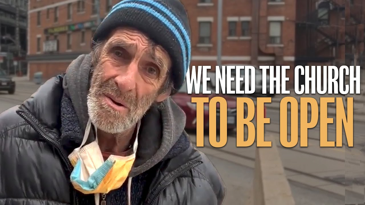 The Homeless Cry out: The Church is Very Important to mental health