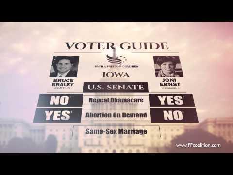Iowa U.S. Senate Video Voter Guide