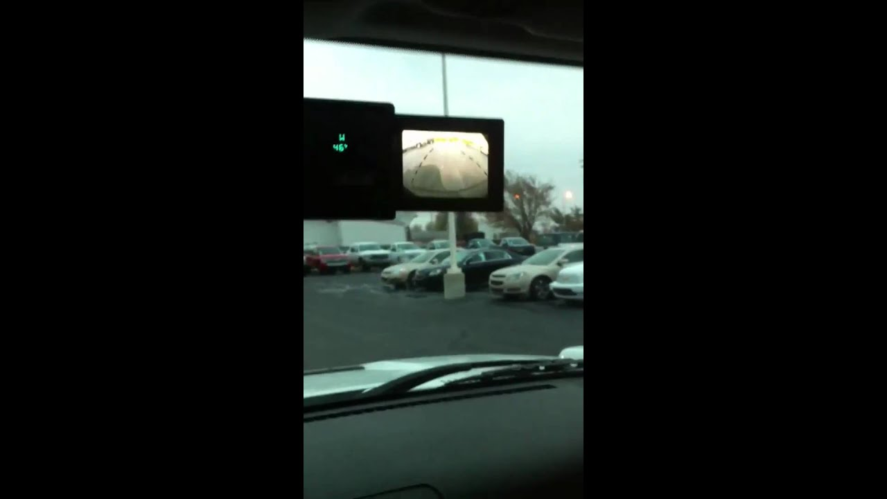 H3 Hummer Backup Camera Youtube