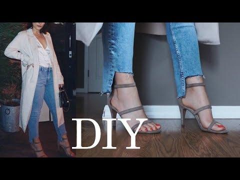 MADEMOISELF DIY Tutorial: Jeansjacke bemalen YouTube