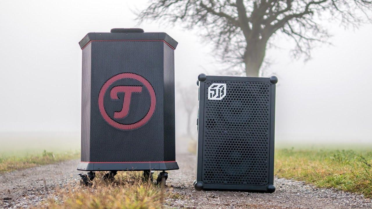 teufel rockster vs soundboks 2 loudest portable. Black Bedroom Furniture Sets. Home Design Ideas