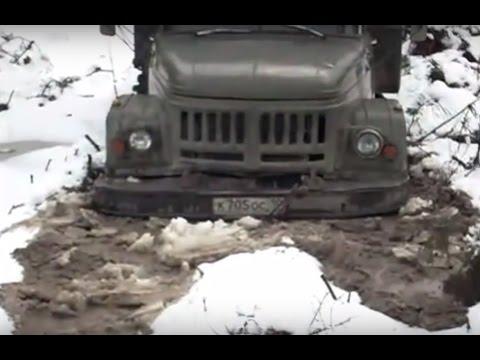 Russian Trucks in Extreme Conditions Zil-131 UAZ-469 GAZ 53 UAZ Patriot