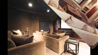 Home theater built in cabinets ideas