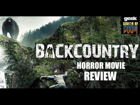 BACKCOUNTRY aka BLACKFOOT TRAIL ( 2014 Missy Peregrym )  Horror Movie Review