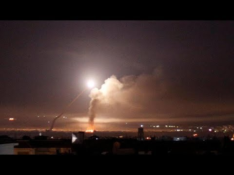 Israel attack Iran's Syria bases with 70 missiles in revenge for rocket strikes on Golan Heights
