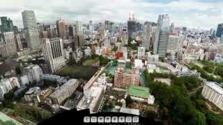 Tokyo Tower 360° Gigapixel Photo by Jeffrey Martin / 360cities.net