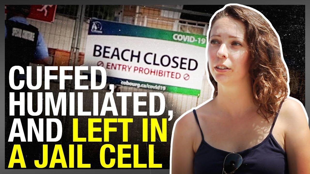 Beachgoer ARRESTED for walking on empty Lake Ontario beach   #FightTheFines Case #11