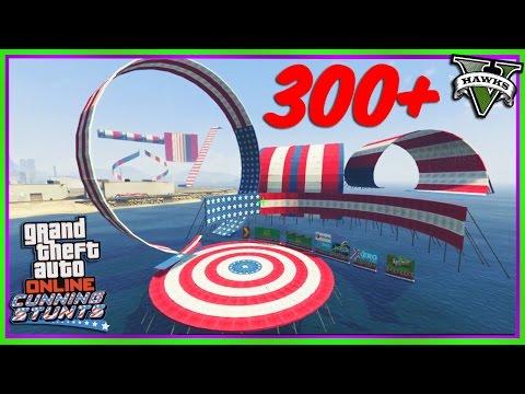 GTA 5 Stunt Race Creator - 300+ Stunt Race Props Showcase (GTAV Mods) Cunning Stunts DLC