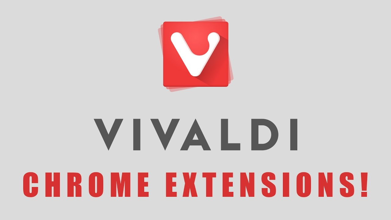How to Install Chrome Extensions in Vivaldi Web Browser