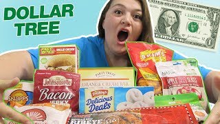 DOLLAR STORE FOOD REVIEW!!!