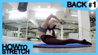 HOW TO STRETCH your BACK #1 | for Gymnastics & Contortion | Exercises for Flexibility