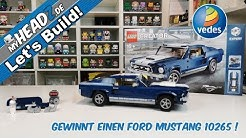 Let's Build! LEGO Creator Expert #10265 Ford Mustang & Gewinnspiel!