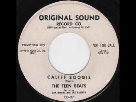 THE TEEN BEATS - Califf Boogie