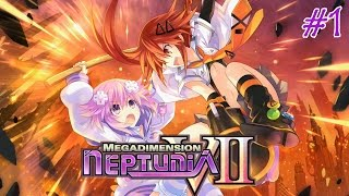 💖Megadimension Neptunia VII💜 - PS4 Walkthrough Part 1 | First Hour of Game {English, Full 1080p}