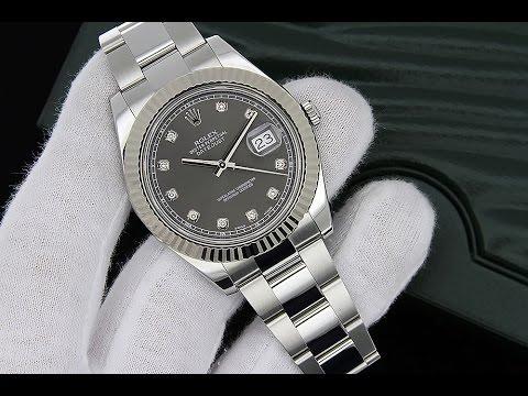 Diamond Dial Watch