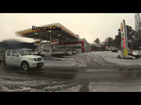 Snow In Southern Highlands, Mossvale/Bowral/Mittagong 17th July