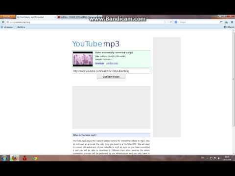 วิธี ดาวโหลด เพลง จาก youtube to mp3