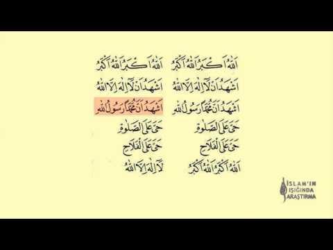 Ezan Okunuşu Segah Makamı Dinle (Arapça Yazılı)