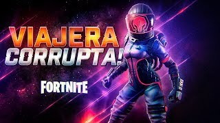 NEW SKIN *CORRUPTA TRAVEL* IN THE STORE OF FORTNITE!!