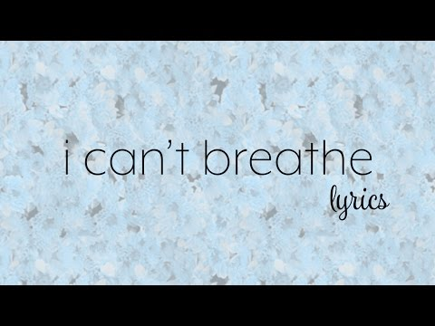 Bea Miller - i can't breathe (Lyric Video)