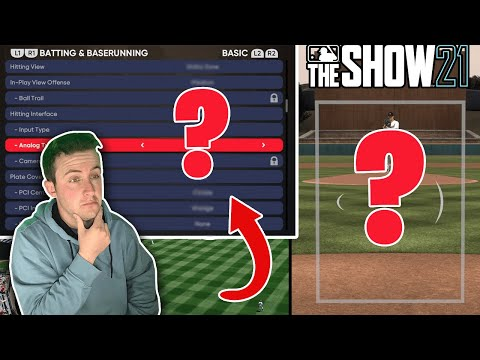 GREATEST HITTING TIPS FOR MLB THE SHOW 21! (THESE SETTINGS ARE A CHEAT CODE)   MLB The Show 21