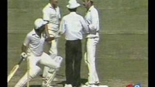 Javed Miandad VS Dennis Lillee FUNNY