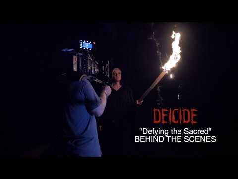 """DEICIDE - """"Defying The Sacred"""" (Behind the Scenes)"""