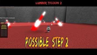 Candy Cane Biome: Lumber tycoon 2: Roblox (Possible step 2)