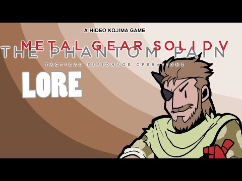 LORE - Metal Gear Solid V: The Phantom Pain Lore in a Minute!
